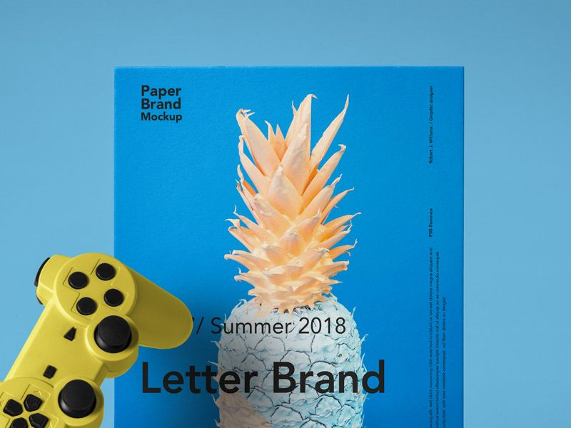 Paper Brand Letter